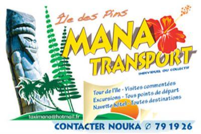 Affiliations - MANA NAUTIQUE -  Excursions - Île des Pins - Nouvelle-Calédonie