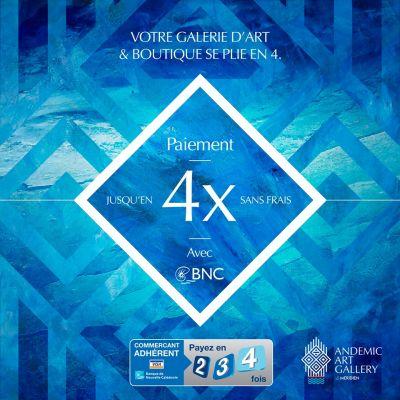 Facilités - ANDEMIC ART GALLERY - Exposition vente d'artistes de Nouvelle-Calédonie et du Pacifique - Nouméa - Nouvelle-Calédonie