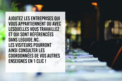 Affiliations - VITRINE COMMERCIALE F2 - TUTO - NOM DE VOTRE ENTREPRISE - Nouvelle-Calédonie