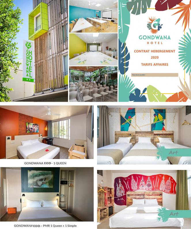 Offres spéciales - HOTEL GONDWANA Eco Friendly & Art - Nouméa - Nouvelle-Calédonie