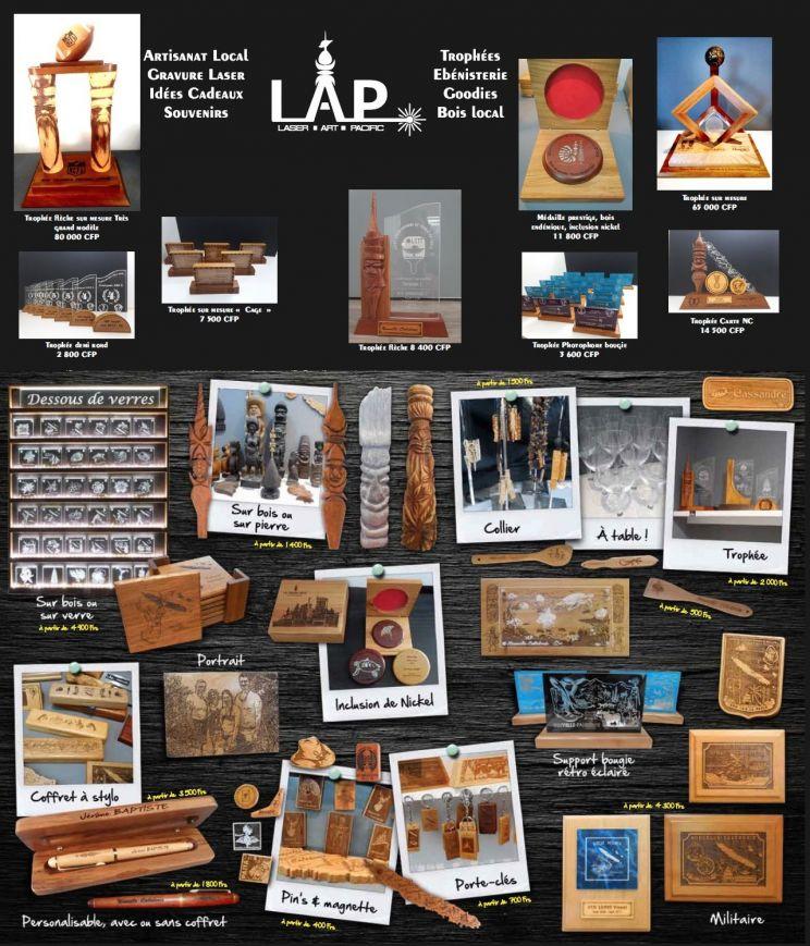 Tarifs - LES ARTS DU PACIFIQUE - Souvenirs 100% local - Nouvelle-Calédonie - Nouvelle-Calédonie