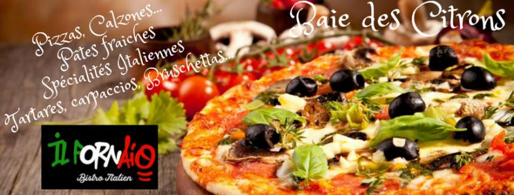 Tarifs - IL FORNAIO Restaurant - Cuisine italienne - Nouméa - Nouvelle-Calédonie