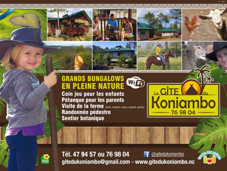 Offres spéciales - GITE DU KONIAMBO - VOH - Nouvelle-Calédonie