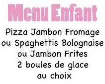 Pour les enfants - Pizzeria LA DOLCE VITA -  Restaurant italien - Pizzas au feu de bois,livraison ou à emporter -  Nouméa - Nouvelle-Calédonie