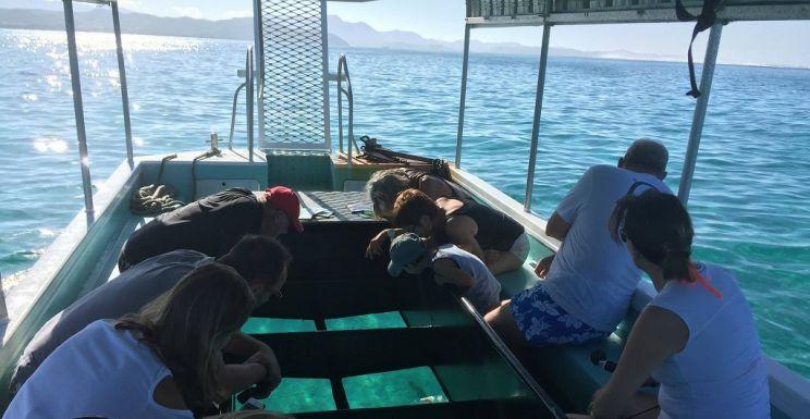 Tarifs - BATEAU À FOND DE VERRE & RANDONNÉE PALMÉE - PLAGE DE POÉ-DÉVA - Bourail - Nouvelle-Calédonie