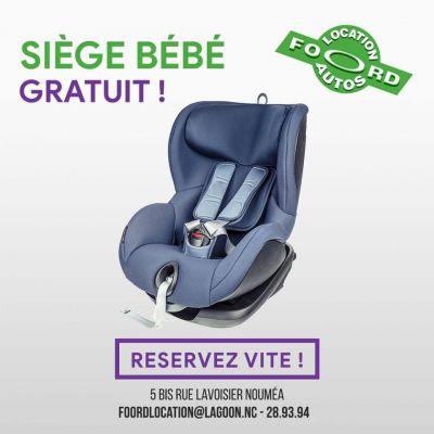 Pour les enfants - FOORD LOCATION - Location voitures et utilitaires - Nouméa - Nouvelle-Calédonie