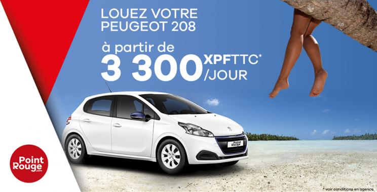Offres spéciales - POINT ROUGE LOCATION - Location de voiture - Nouméa - Nouvelle-Calédonie