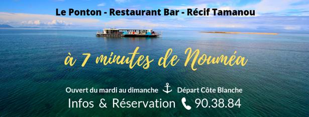 Offres spéciales - LE PONTON - Restaurant récif Tamanou - Nouméa - Nouvelle-Calédonie