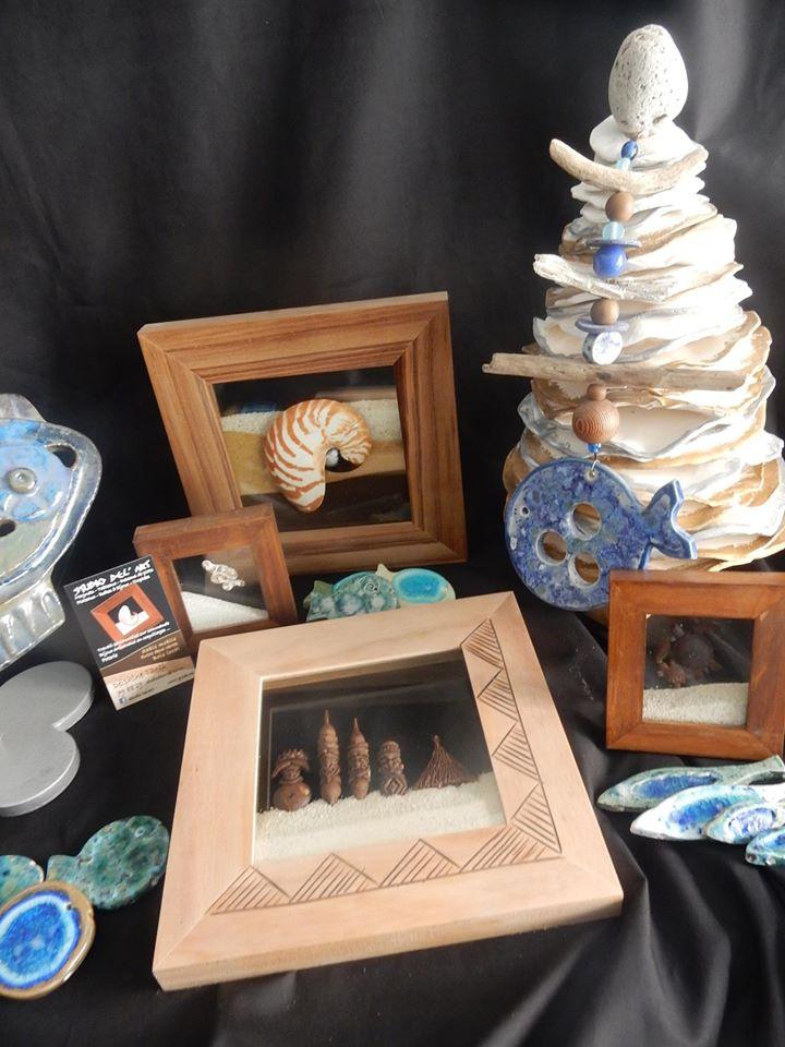 Tarifs - STUDIO DEL' ART - Tableaux de sable & Cours de poterie - Nouméa - Nouvelle-Calédonie