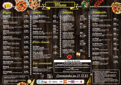 LA TABLE DE SANCHEZ - Cuisine espagnole, Restaurant, Snack, Pizzas & Paella - Nouméa - Photo 2 - Nouvelle-Calédonie