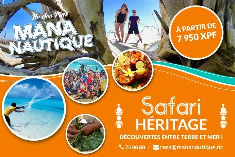 MANA NAUTIQUE -  Excursions - Île des Pins