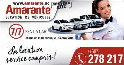 AMARANTE - Location de voiture et utilitaires - Nouméa - Photo 1 - Nouvelle-Calédonie