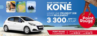 POINT ROUGE LOCATION - Location de voiture - Koné - Nouvelle-Calédonie - Photo 1 - Nouvelle-Calédonie
