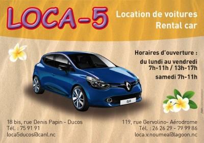 LOCA 5 - Location de voiture - Nouméa - Photo 1 - Nouvelle-Calédonie