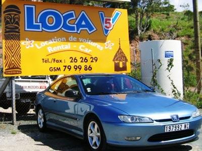 LOCA 5 - Location de voiture - Nouméa - Photo 2 - Nouvelle-Calédonie