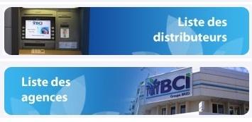 BANQUE BCI - Distributeur de billet - Agence Centrale Victoire  - Nouméa