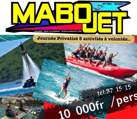 MABOJET - Location et randonnées de moto marine-FLYBOARD - Nouméa