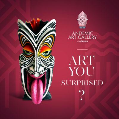 ANDEMIC ART GALLERY - Exposition vente d'artistes de Nouvelle-Calédonie et du Pacifique - Nouméa - Photo 4 - Nouvelle-Calédonie