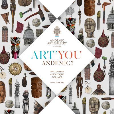 ANDEMIC ART GALLERY - Exposition vente d'artistes de Nouvelle-Calédonie et du Pacifique - Nouméa - Photo 5 - Nouvelle-Calédonie