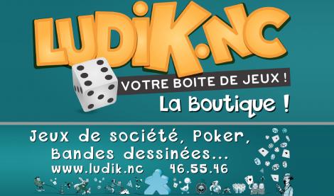LUDIK - Librairie indépendante en Bandes Dessinées et Boutique spécialisée de Jeux de société - Nouméa