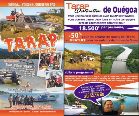TARAP DESTINATION - OUEGOA