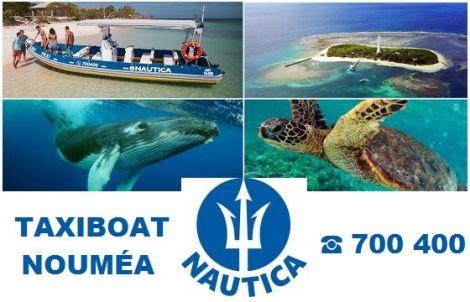 NAUTICA - Taxi boat - Randonnée palmée - Nouméa