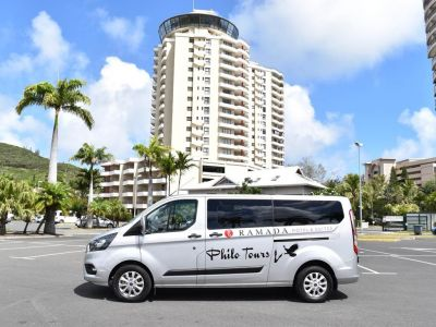 PHILOTOURS TRANSPORT - Navette aéroport - Shuttle - Nouméa - Photo 3 - Nouvelle-Calédonie