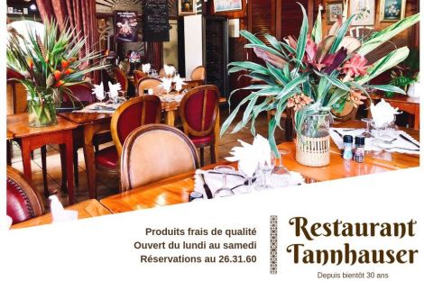 RESTAURANT TAVERNE TANNHOUSER - Port Plaisance