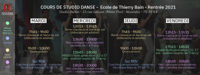 STUDIO DE DANSE ECOLE DE THIERRY BAIN - Nouméa - Photo 2 - Nouvelle-Calédonie