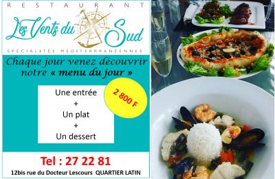 LES VENTS DU SUD - Restaurant méditerranéen - Nouméa - Photo 1 - Nouvelle-Calédonie