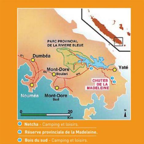 CHUTES DE LA MADELEINE - Réserve Naturelle - Yaté
