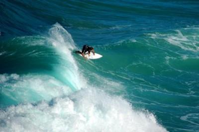 PLAGE DE LA ROCHE PERCÉE - Surf - Association BWÄRÄ Protection des tortues marines - Bourail - Photo 2 - Nouvelle-Calédonie