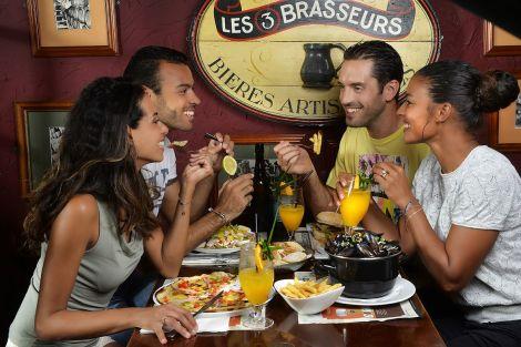 LES 3 BRASSEURS - Restaurant - Brasserie - Nouméa