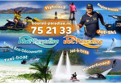 JET PARADISE - Jetski, flyboard, hoverboard, Jet à bras,  bouée tractée à Poé - Bourail - Photo 1 - Nouvelle-Calédonie