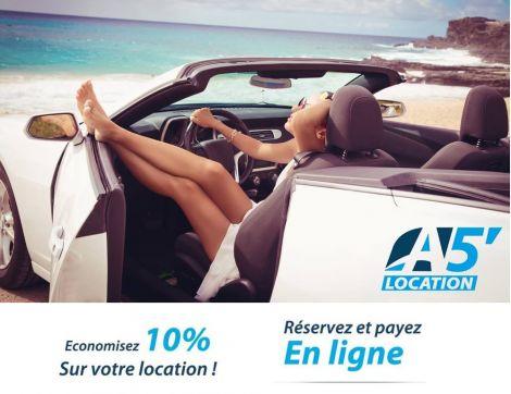 A5 - Location de voiture - Aéroport de Tontouta - Nouvelle-Calédonie