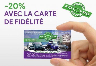 FOORD LOCATION - Location voitures et utilitaires - Nouméa - Photo 1 - Nouvelle-Calédonie