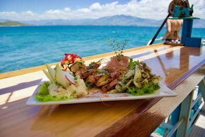 LE PONTON - Restaurant récif Tamanou - Nouméa - Photo 1 - Nouvelle-Calédonie