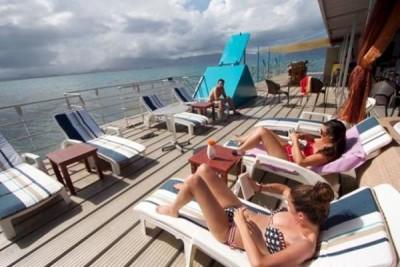 LE PONTON - Restaurant récif Tamanou - Nouméa - Photo 4 - Nouvelle-Calédonie