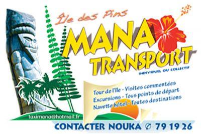 MANA TRANSPORT -  Excursions et Taxi  - Ile des Pins - Nouvelle Calédonie - Photo 1 - Nouvelle-Calédonie