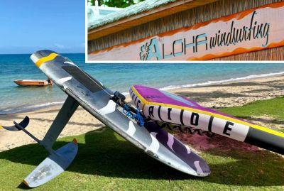 ALOHA WIND SURFING - École de planche à voile et location - Nouméa - Photo 2 - Nouvelle-Calédonie