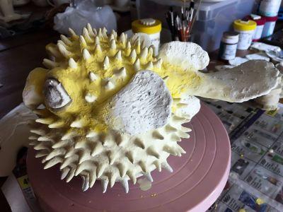 STUDIO DEL' ART - Tableaux de sable & Cours de poterie - Nouméa - Photo 2 - Nouvelle-Calédonie