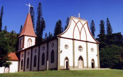 Eglise Notre-Dame de L'Assomption - Ile des Pins - Photo 1 - Nouvelle-Calédonie