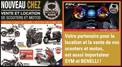 NOUMEA RIDER - Location et vente motos et Scooters - Nouméa - Photo 2 - Nouvelle-Calédonie