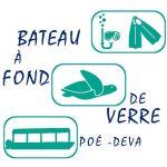 BATEAU À FOND DE VERRE & RANDONNÉE PALMÉE - PLAGE DE POÉ-DÉVA - Bourail - Nouvelle-Calédonie