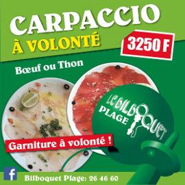 LE BILBOQUET PLAGE - Restaurant, Brasserie - Nouméa