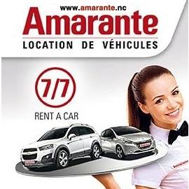 AMARANTE - Location de voiture et utilitaires - Nouméa