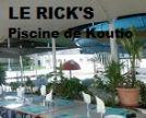 LE RICK'S - Snack, Restaurant - Piscine de Koutio - Dumbéa